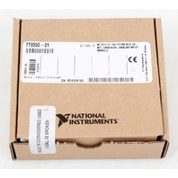 National Instruments NI-9217 4-CH, PT100, RTD Analog Input Module -New in Box