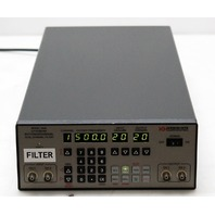 Krohn-Hite 3940 3Hz-2MHz, 0-20 dB Gain Dual Channel Programmable Filter w/ GPIB