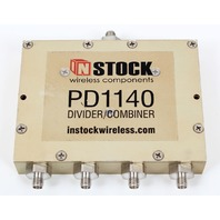 In-Stock PD1140 Divider/Combiner 0.698-2.700GHz - GPS, L-Band, SMA, RF, Wireless