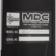 "MDC V-Plane 1-1/2"" Single Axis Z Stage 8"" Stepper Drive LMTA-1508-5-SP 665529-01"