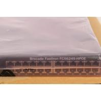 Brocade FastIron FCX624S-HPOE PoE 24-Port Gigabit Layer-3 Managed Switch