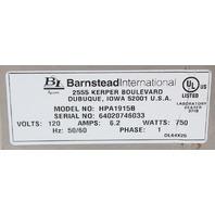 """Barnstead Hotplate 6x6"""" HPA1915B"""
