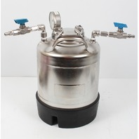 EMD Millipore 10 Liter Dispensing Pressure Vessel XX6700P10