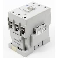 Allen-Bradley 100-C60D10 IEC 60 Amp Contactor, 120VAC Coil w/ Aux Contact Block