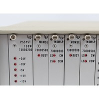 LEP Ludl 11 Slot Chassis PSSYST, 2 MCMSE, 3 MDMSP, AFCMS, FWSHC, NCHA, RS232 INT
