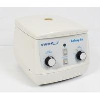 VWR Galaxy 16 Centrifuge w/ 18 Slot Rotor and Lid 15120-102 C0170-VWR