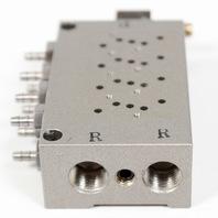 SMC Electric Pneumatic Solenoid Valve Bank 8-Port Manifold