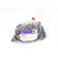 Lot of 125 15/415 Thread Autoclavable Phenolic Rubber-Backed Teflon Caps E016415