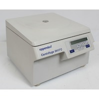 Eppendorf 5417C Centrifuge 30 Place Rotor and Lid F45-30-11 Excellent Condition