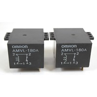 Lot of 2 Omron AMVL-180A 5 Pin Relay