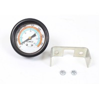"""Gomco 2.5"""" Panel Vacuum Gauge Hose Barb 0-30 in Hg 0-760 mm Hg with Hardware"""