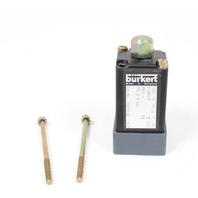 Burkert Type 0115 3/2 Solenoid Valve 0115-A-01.8-F-PV-E-310 0-8 bar 24VDC 8W