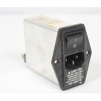 Schaffner Filtered Power Entry Module FN394-2.5-05-11 2.5A