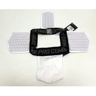 XXL Nike Pro Combat Hyperstrong Hip Tail Pad Compression Jock Strap 424188-100
