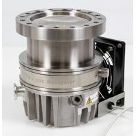 Varian Navigator TV-301 UHV Turbomolecular Vacuum Pump TV301 w/ Fan, 9698919