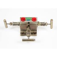 Anderson Greenwood M4THIC-4 Differential Pressure 3-Valve Manifold 6000psi C/S