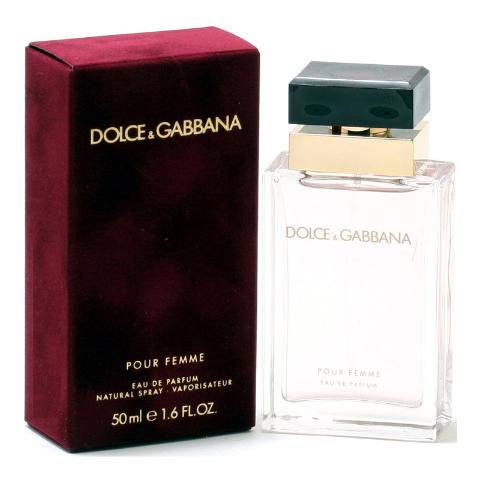 Detalles de D&G DOLCE GABBANA POUR FEMME * & 1.61.7 OZ (50 Ml) Eau de Parfum Spray * Nuevo y Sellado ver título original