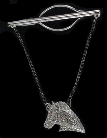 Jewel Tie 925 Sterling Silver Antiqued-Style Pharaoh Pendant