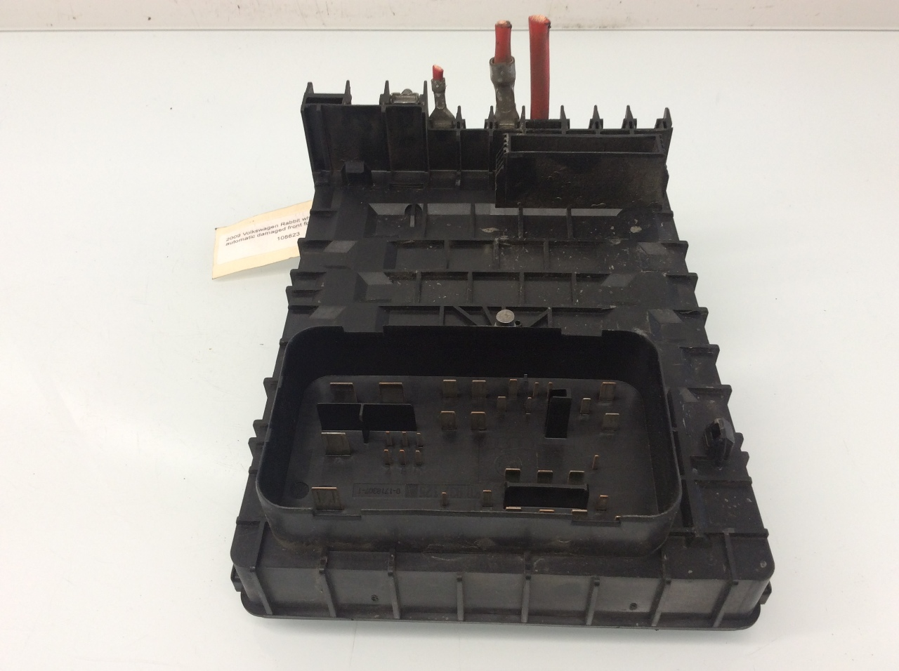 Vw Fuse Box Engine Conpartment Volkswagen Rabbit Compartment Panel Diagram 2006 2007 2008 2009
