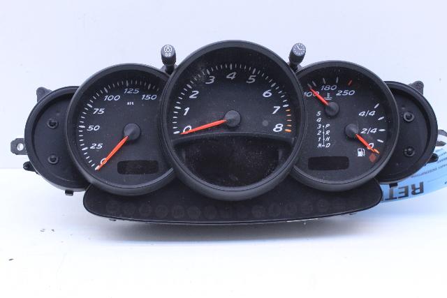 Details about 2003 Porsche Boxster Speedometer Speedo Instrument Cluster  98664120404