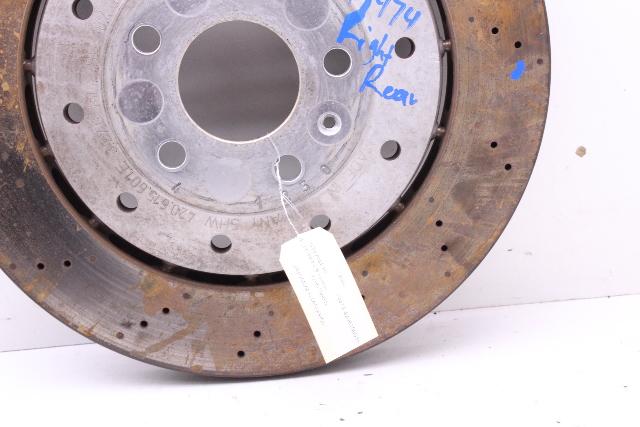For 2008-2012 Audi R8 Brake Rotor Rear OE Supplier 62947SG 2009 2010 2011