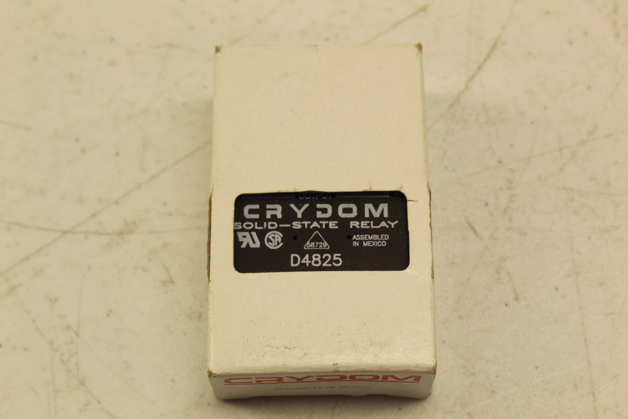 Crydom D4825 Solid State Relay New In Box Plc Surplus Supply Llc