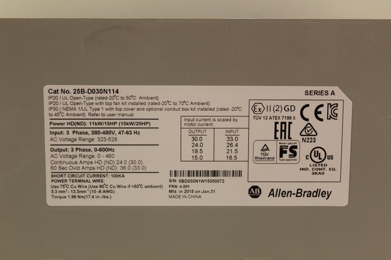 Powerflex 525 Ac Drives Allen Bradley Caroldoey