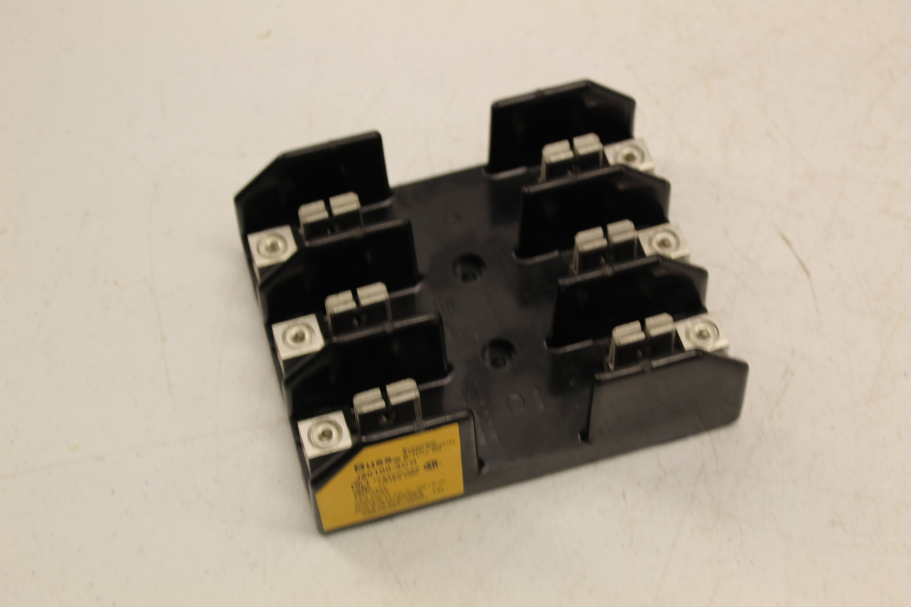 bussmann 600v 100a wire fuse holder fuse block plc surplus supply llc