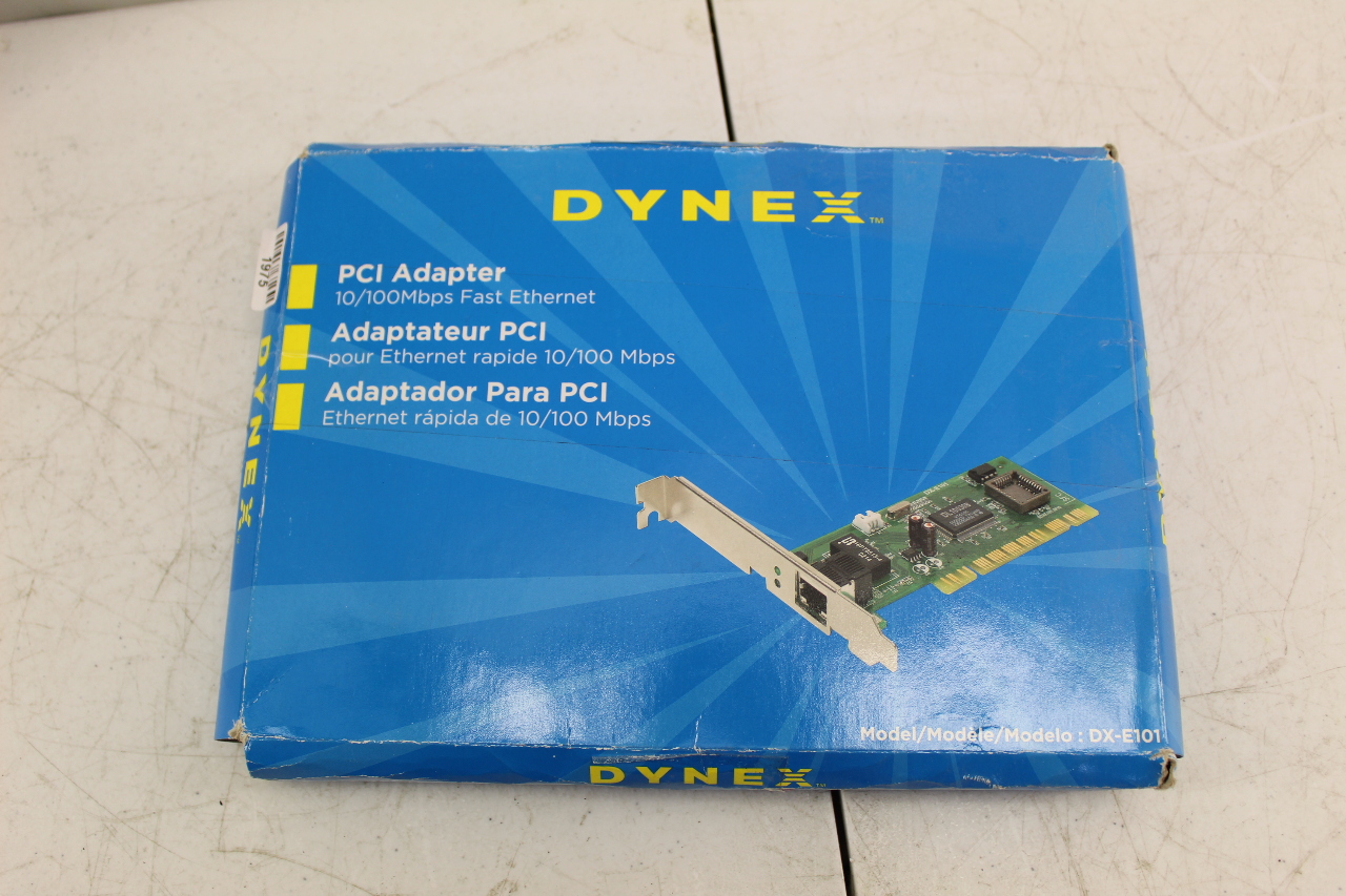 DYNEX DX E101 PCI ADAPTER DRIVER FOR WINDOWS 7