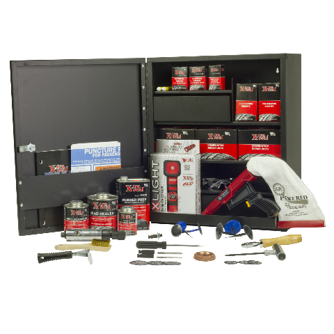 Master Tire Repair Cabinet Assortment, Complete Puncture Repair Assortment