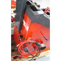 HUNTER ENGINEERING DSP9600 WHEEL BALANCER W/WHEEL LIFT, INFLATOR, CONE SET