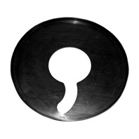 (1) Rubber protection plate for center-clamp tire changers Fits TCA34S, TC39, TC37, TC3300,TC3305, TC3315