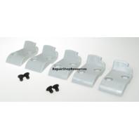 (5) V3 HUNTER TCX57 Tire Leverless Head Protection Inserts w/ 4 screws Grey