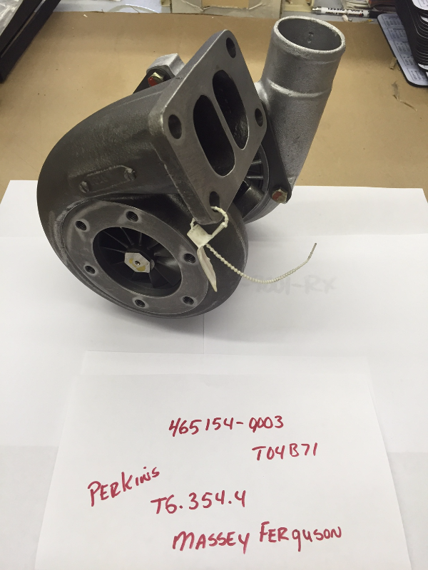Turbo for 1984-2001 Perkins T6-354.4 Engine - Garrett #465154-9003 OEM # 2674405