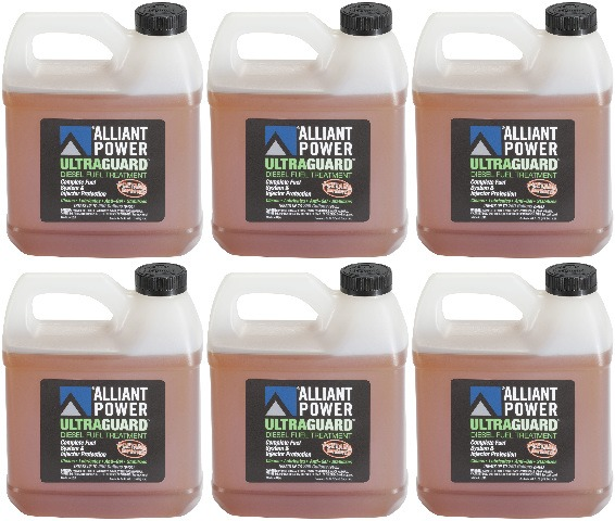 Alliant Power ULTRAGUARD Diesel Fuel Treatment - 6 Pack of 64 oz Jugs  # AP0503