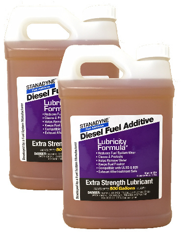 Stanadyne Lubricity Formula | 2 Pack of 1/2 Gallon (64oz) Jugs | Each Jug Treats 500 Gallons of Diesel Fuel | Part # 38561