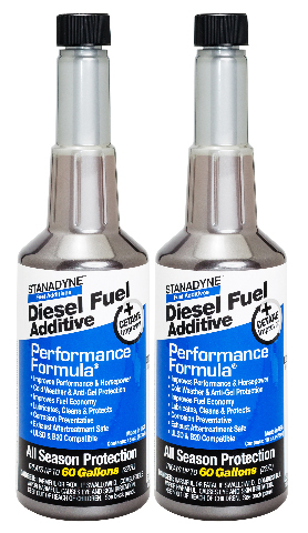 Stanadyne Performance Formula Diesel Fuel Additive - Pack of 2 Pint Bottles - Part # 38565