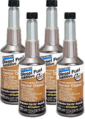 Stanadyne Performance Formula Diesel Injector Cleaner | 4 Pack of 16 oz bottles | # 43564
