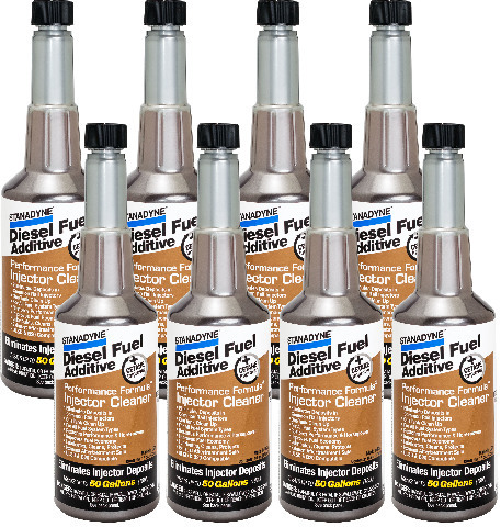 Stanadyne Performance Formula Diesel Injector Cleaner | 8 Pack of 16 oz bottles | # 43564