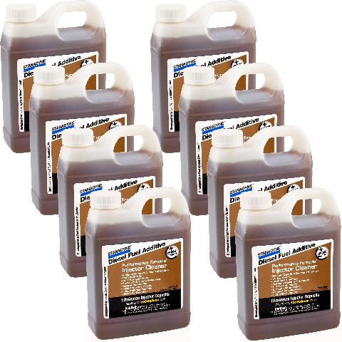Stanadyne Diesel Injector Cleaner  |  8 pack of 32 oz jugs | Stanadyne # 43566