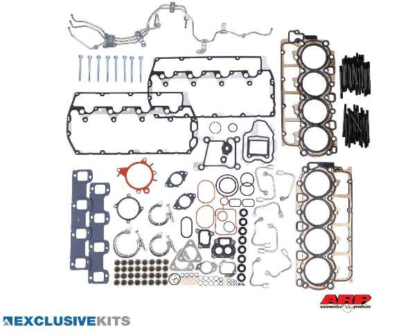 2011-2014 6.7L Power Stroke F-250 F-350 F-450 F-550 Head Gasket Kit with Studs | Alliant Power # AP0152