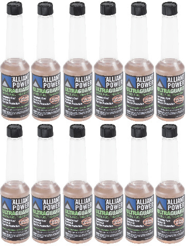 Alliant Power ULTRAGUARD Diesel Fuel Treatment | 12 Pack of 1/2 Pints | # AP0500
