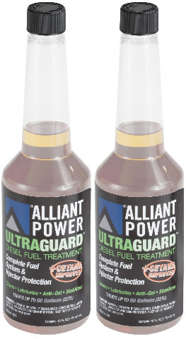 Alliant Power ULTRAGUARD Diesel Fuel Treatment | 2 Pack of Pints (16oz) # AP0501