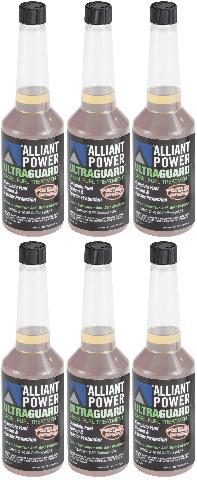 Alliant Power ULTRAGUARD Diesel Fuel Treatment - 6 Pack of Pints # AP0501
