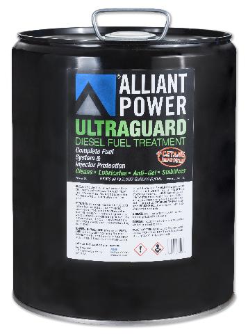 Alliant Power ULTRAGUARD Diesel Fuel Treatment - 5 Gallon Pail - Treats 2500 Gallons of Diesel Fuel  # AP0504