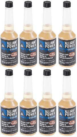 Alliant Power WINTERGUARD Diesel Fuel Treatment - Pack of 8 Pints # AP0506