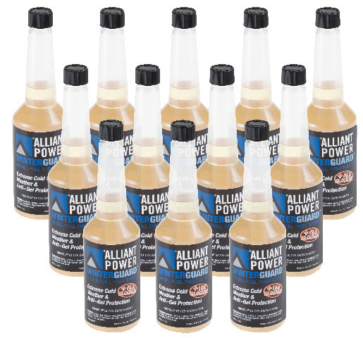 Alliant Power WINTERGUARD Diesel Fuel Treatment - Case of 12 Pints # AP0506