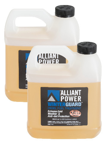 Alliant Power WINTERGUARD Diesel Fuel Treatment | 2 Pack of 1/2 Gallon Jugs | # AP0507