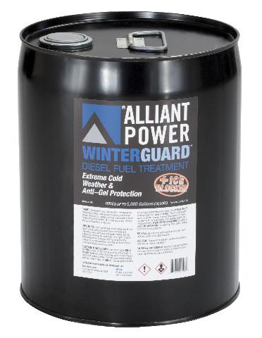 Alliant Power WINTERGUARD # AP0508 | Diesel Fuel Treatment | 5 Gallon Pail - Treats 5000 Gallons of Diesel Fuel