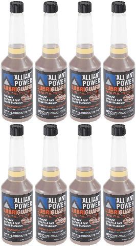 Alliant Power LUBRIGUARD Diesel Fuel Treatment | 8 Pack of Pints | Alliant Power # AP0510